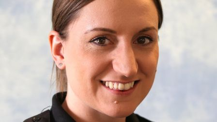PC Hannah Creasey will be working in Ipswich Picture SUFFOLK CONSTABULARY