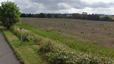 Plans for 25 homes on land south east of Wheatfields in Whatfield has been recomended for refusal Pi