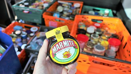 Unopened jars peanut butter and Harrods Jam are among items surrendered to airport security at Stans