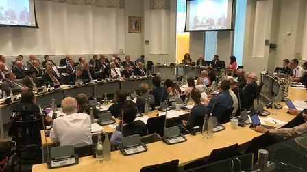 Suffolk County Council meetings might not be such a squash after May 2021. Picture: PAUL GEATER