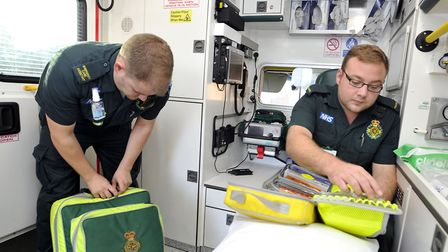 Frontline worker shortages are leading to a 'staffing crisis' at the East of England Ambulance Servi