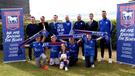Willis Towers Watson have linked up with Town to become sponsors of the Club's Junior Blues Picture: