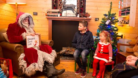 Your little ones can meet Santa at Blackthorpe Barn this year. Picture: TOM SOPER