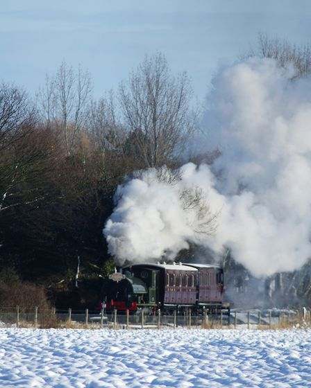 The Christmas mid Suffolk railwau returns for another year. Picture: Lawrie Rose