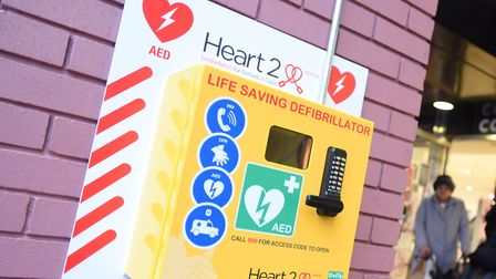 Defibrillators are becoming a common sight across the region. Stock image Picture: GREGG BROWN