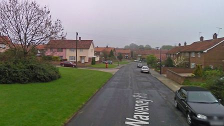 The girl was approached in Waveney Road, Felixstowe Picture: GOOGLE MAPS