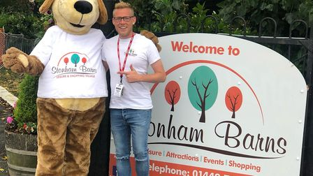 Robbie James is entertainer and theatre manager at Stonham Barns. He is offering free tickets for li