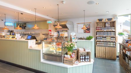 The new Tiptree Tearoom in Southwold Picture: Mark Sepple