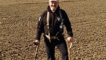 Suffolk builder Don Crawley discovered a haul of silver coins in the county in 2017 Picture: PA/DNW