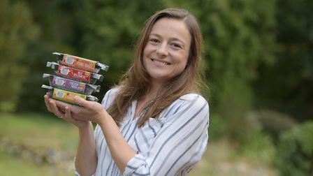 Jess Colmer has just launched a brand new business selling healthy ready meals for children Picture