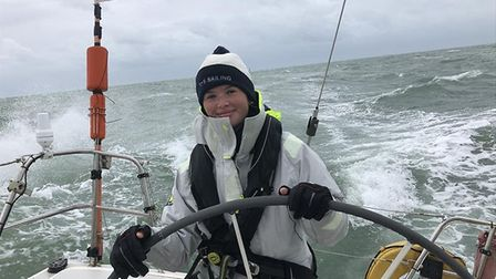 Seventeen-year-old Josie Ruffles was named Young Sailor of the Year by the East Anglian Offshore Rac