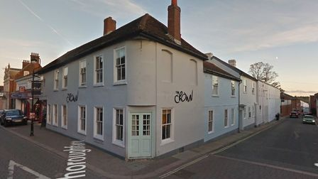 Suffolk Fire and Rescue were called to advise staff at The Crown in Woodbridge Picture: GOOGLE MAPS