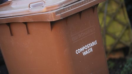 Just one council in Suffolk does not charge for brown bin collection Picture: GREGG BROWN