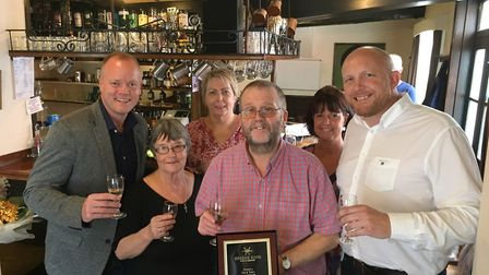 Liz and Tony Fayers have put in their last shift at the award-winning Rose & Crown pub in Westgate S