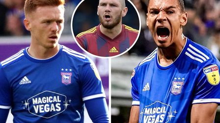 Jon Nolan and Kayden Jackson will be looking to make an impact for Ipswich Town on what will be a sp