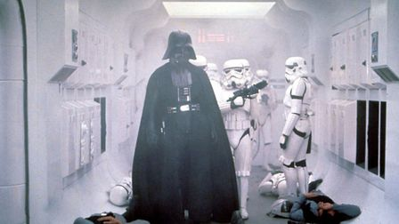 """Darth Vader makes his entrance in the 1977 movie """"Star Wars."""" Photo: 20th Century Fox"""