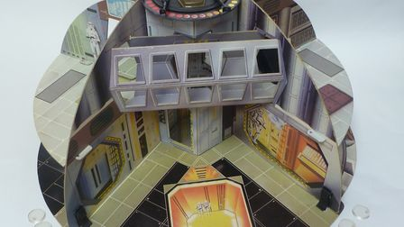 The original Death Star playset which forms part of the May The Toys Be With You exhibition at Moyse