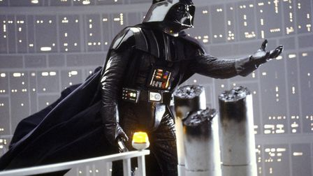 """Darth Vader is shown in a scene from Lucasfilm's """"Star Wars: The Empire Strikes Back,"""" Photo: Lucas"""