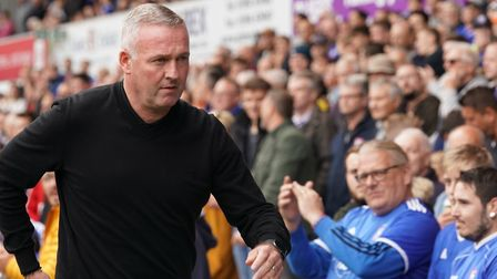 Town manager Paul Lambert pictured ahead of the Tranmere match. Picture: Steve Waller www.step
