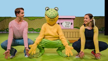 Dear Zoo the timeless childrens classic book is on stage at the Theatre Royal, Bury St Edmunds thi