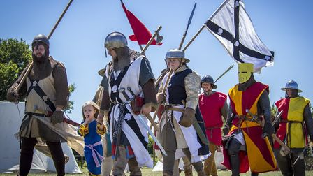 A highlight of the History Alive event at Stonham Barns will be a battle between Vikings and Saxons