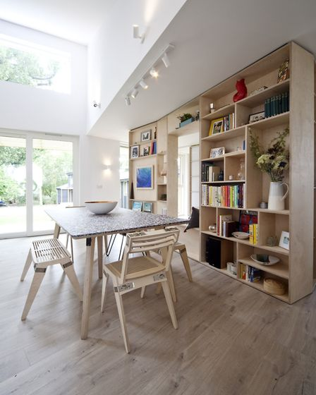 The six-bedroom house will appear on Channel 4's Grand Designs tonight Picture: FREMANTLE/CHANNEL 4