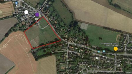 A Mid Suffolk development control committee are set to decide on plans for 42 homes in Somersham nex