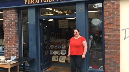 Lindsay Foreman, co-owner of Furniture Market, is reluctantly closing the shop the week commencing O