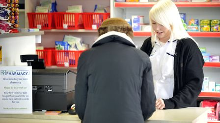 The services sector in Suffolk, which includes areas such as retail, banks, hotels, education, healt