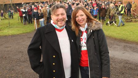 Mat and Kelly married in January 2019 after announcing their engagement at the Stars of Suffolk in 2