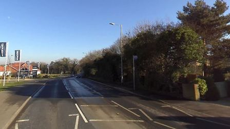 Traffic is building in Woods Lane in Melton following a collision. Picture: GOOGLE MAPS