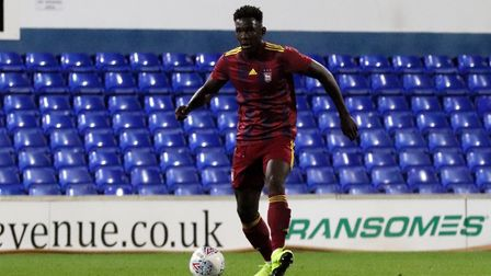 Toto Nsiala will make his first 'senior' appearance following recovery from a hamstring injury. Phot