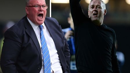 Steve Evans and Paul Lambert became embroiled in a war of words following Ipswich Town's recent 1-0