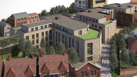 Work has started on building 252 student homes on the former bus depot site in Magdalen Street, Colc