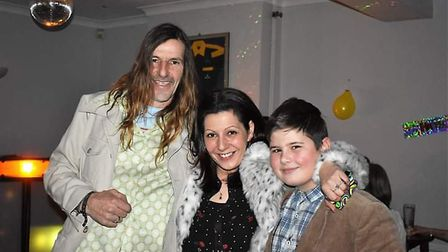 Wayne Watson, Emily Power and her son Kyle Jones Picture: SUBMITTED