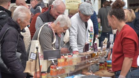 The Aldeburgh Food and Drink festival at Snape Maltings Picture: SONYA DUNCAN