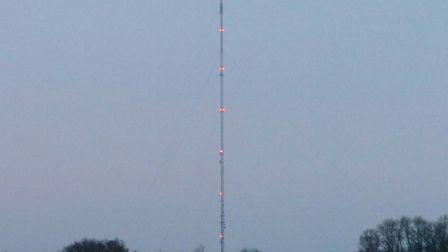 Four men who base jumped from the Mendlesham Mast have escaped prosecution Picture: ARCHANT