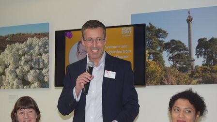 Home-Start Suffolk's annual general meeting. Pictured is chairman Rob Thacker. Picture: ANDREW PAPWO