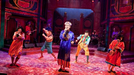 Aladdin - the Wok and Roll pantromime at the New Wolsey Theatre, Ipswich Photo: Mike Kwasniak