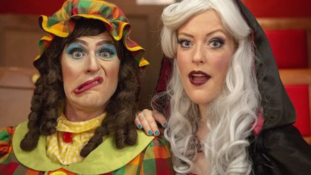 At the Bury St Edmunds Theatre Royal pantomime comedy and great songs are the key to a great pantom