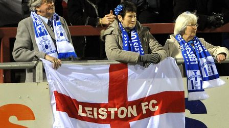 Sport Fleetwood Town vs Leiston at the Highbury Stadium in Fleetwood for the FA Cup first round