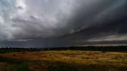 Suffolk and Essex could see flooding this weekend as the Met Office issue a yellow weather warning f