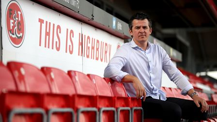 Fleetwood Town manager Joey Barton. Picture: PA