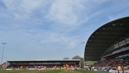 Ipswich Town are taking 1,100 fans to Fleetwood this weekend. Picture: PA