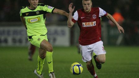 Jamie Vardy scored 34 goals in just 40 games for Fleetwood Town. Picture: PA