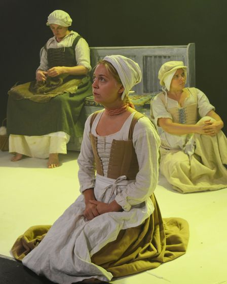 Sisterhood is a new play by East Anglia born Jolie Booth that follows the East Anglian footsteps of