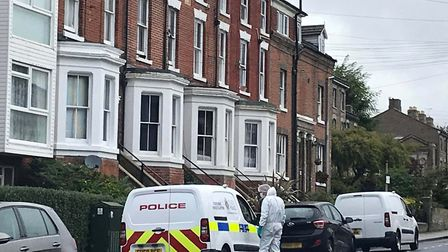 One man has been arrested on suspicion of murder. PICTURE: ARCHANT