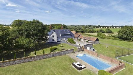 An exceptional Grade II listed framhouse in Drinkstone, near Bury St Edmunds, has gone on the market