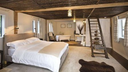 Hill Farm House has three floors with a huge number of rooms. Picture: BEDFORDS