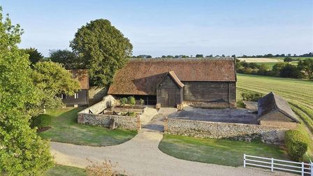 Hill Farm House in Drinkstone could be yours for £1,895,000. Picture: BEDFORDS